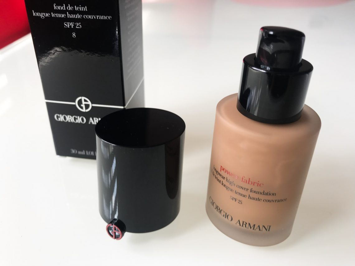 Giorgio Armani Power Fabric Foundation package